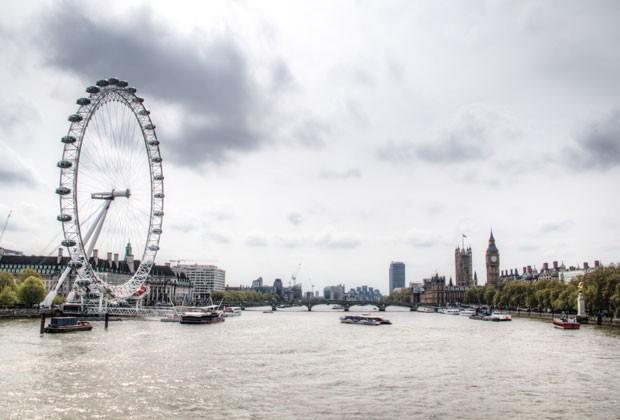 A London Eye é uma das rodas-gigantes mais famosas do mundo (Foto: Thinkstock)