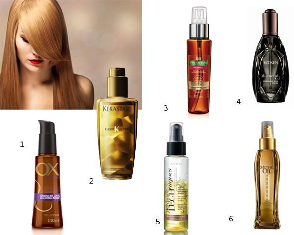 Óleos para cabelos ajudam na hidratação dos fios (Foto: Think Stock/Divulgação)