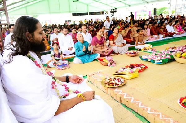 Swami Parantej dá cursos de meditação em todo o mundo (Foto: Divulgação)