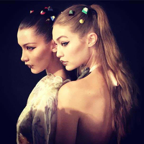 Bella e Gigi Hadid (Foto: Reprodução/Instagram)