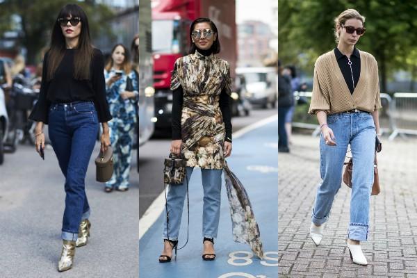 A calça jeans normcore com boca reta (Foto: Imaxtree)