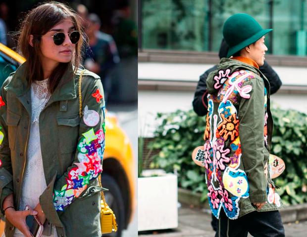 As parkas são casacos militares clássicos. Aposte nos modelos repaginados com bordados e aplicações coloridas (Foto: ImaxTree/ Divulgação)