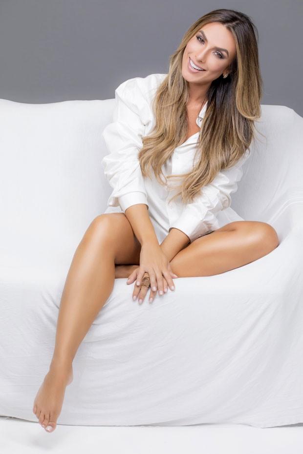 """Nicole Bahls fará uma participação especial no programa """"Vai que Cola"""" (Foto: RL ASSESSORIA/FABIO TIERI)"""