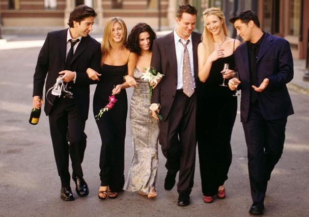 """Elenco da série """"Friends"""" (Foto: Divulgação)"""