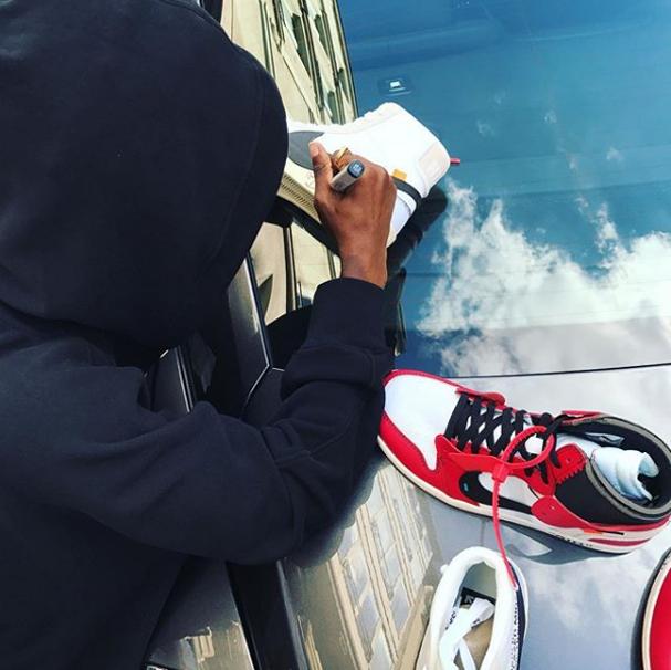 Virgil Abloh recria dez modelos icônicos da Nike (Foto: Reprodução Instagram @virgilabloh)