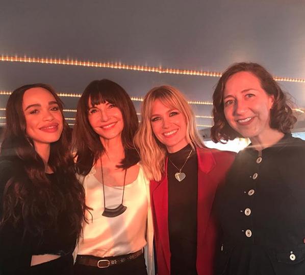 January Jones na festa da nova série (Foto: Reprodução/Instagram)