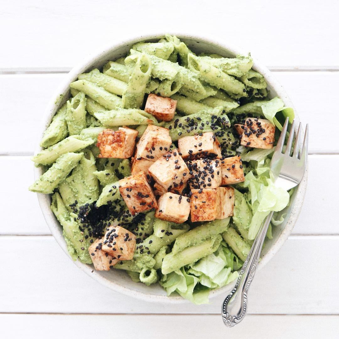 Está vendo o prato delícia da foto? Ele é vegano! (Foto: Instagram/Reprodução)