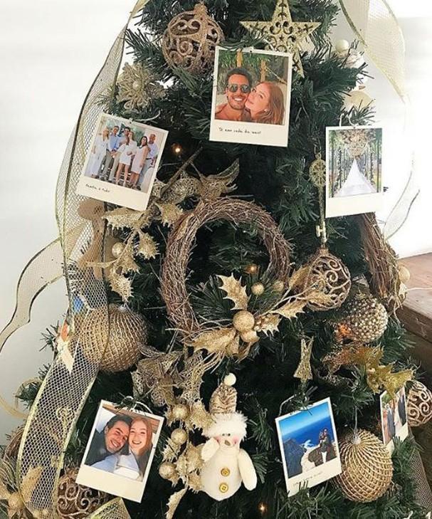Árvore de Natal da Marina Ruy Barbosa (Foto: Reprodução/Instagram)