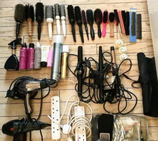 Foto postada pela cabelereira de Kate Middleton (Foto: Reprodução)
