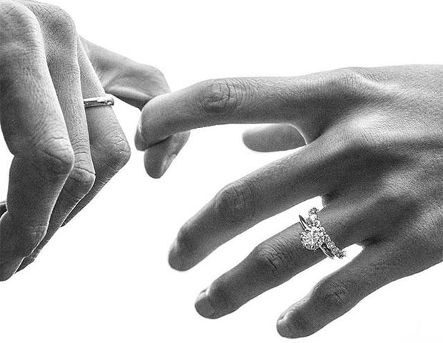 Anel de noivado moissanite  conheça a opção mais barata que o diamante 422ff6eca3698